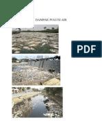 Gambar Dampak Polusi Air