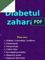 Curs Diabet zaharat 2007