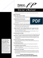 FP-3_OM manual