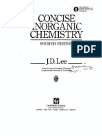 Inorganic Chemistry Principles of Structure and Re