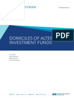 Oliver Wyman Domiciles of Alternative Investment Funds