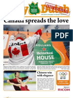 The Daily Dutch International #6 from Vancouver | 02/16/10