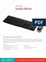 Wireless Combo MK270