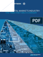 The Capital Markets Industry