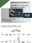 Cours CM 1 Chapitre 3 Elements Flechis en Construction Metallique-libre