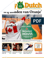 The Daily Dutch #6 uit Vancouver | 16/02/10
