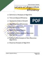 MELJUN CORTES ALGORITHM Analysis of Algorithm Efficiency