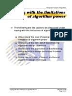MELJUN CORTES ALGORITHM_Coping With the Limitations of Algorithm Power_II