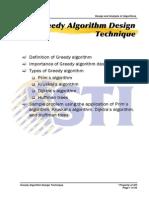 Meljun Cortes Algorithm Greedy Algorithm Design Technique II