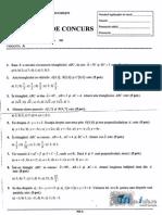 Mate.info.Ro.3028 Geometrie Si Trigonometrie - Subiecte UPB 2014