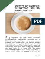 Article 1_health Benefits of Caffeine