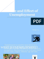 Cause and Effect of Unemployment