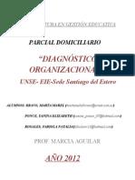 Parcial Domiciliario diagnostico organizacional