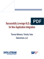 DataXstream ALE and IDOC Leveraging