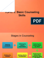 Stages in Counseling