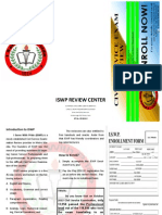 ISWP Brochure and Form