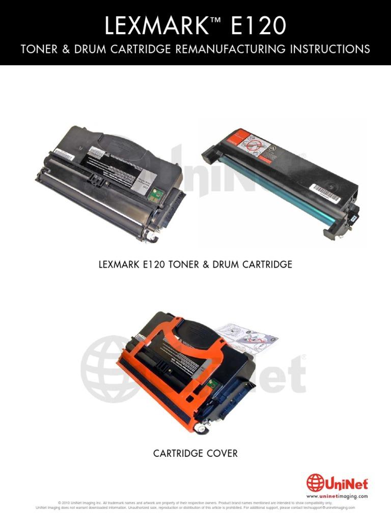 lexmark e120 v manual