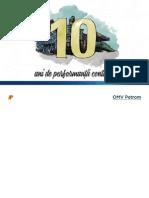 Annual Report in Figures 2014 Ro