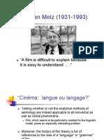 MetzFilm Language