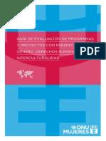 Guía de evaluación con perspectiva de género_Faúndez y Weinstein [Español]