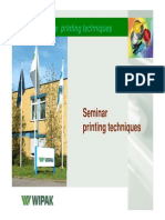 Printing technikes