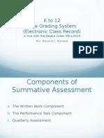 Grading System.windows Version