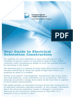 Sherwood Substation Construction Sequencing Brochure