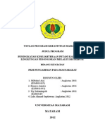Usulan Program Kreativitas Mahasiswa