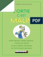 VIE PRATIQUE - L'Ortie, c'Est Malin