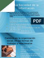 Presentación Sociedad de la Información y Educación