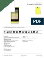 Ficha Tecnica Smartphone Woo Sp3510