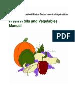 USDA Fresh Fruits and Vegetables