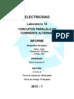 Electricidad Informe Lab 14 1