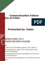 communication failure ppt