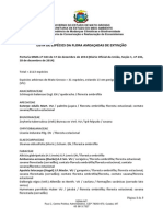 Lista Especies em extinção e proibidas MT - Portaria Federal n° 443-2014
