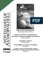 Novedades de Antropología n. 69