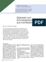 2014-03 Schmiedeteile Aus Hochfesten Staehle DEW SchmiedeJOURNAL