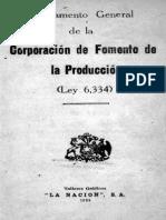 Reglamento General de La CORFO