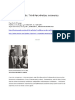 Spoiling for a Fight_Third-party Politics in America by Micah Sifry_Routledge Publishers_2003 - Published Kindle Edition 2013