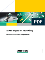 Arburg-Micro Injection moulding