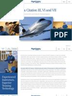 FlightSafety Cessna Citation III VI VII