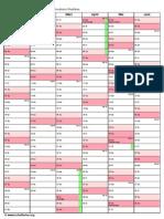 Kalender 2013-2 Seiten