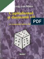 Ludwig Von Mises-Capitalismul și Dușmanii Sai_ Ce Inseamna Laissez-faire_-Nemira (1998)