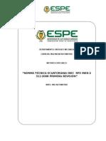 Resumen Norma Tecnica Ecuatoriana Nte Inen 2 311