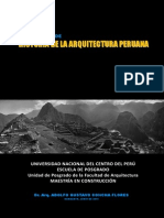 Silabo Historia de la Arquitectura Peruana