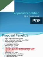 1 Out Line Proposal Penelitian