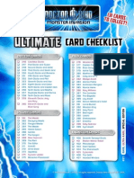 Doctor Who Monster Invasion Ultimate Checklist