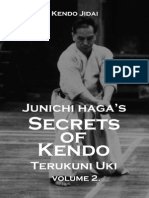 Junichi Haga's Secrets of Kendo - Terukuni Uki Volume 2