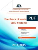 SISO Feedback Linearization