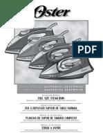 Manual Plancha OSTER GCSTSP6104